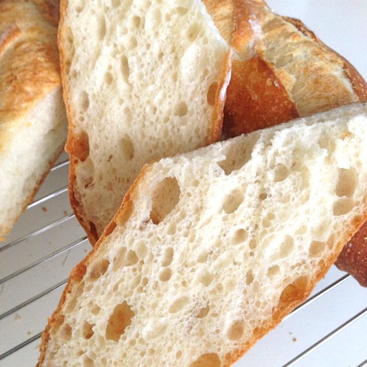 パナソニックビストロで焼成したフランスパン